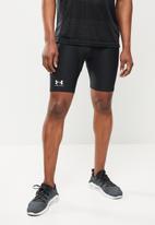 Under Armour - Under Armour hg armour shorts - black & white