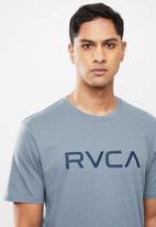 RVCA - Big RVCA short sleeve tee - blue