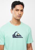 Quiksilver - Comp logo short sleeve - green