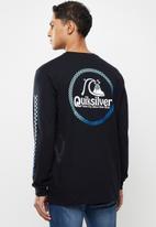 Quiksilver - Bottled up long sleeve edc - black
