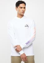 Quiksilver - Bottled up hoodie - white