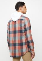 Quiksilver - Motherfly flannel shirt - multi