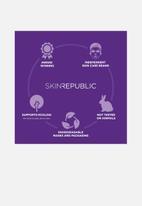 Skin Republic - Bubble Purifying + Charcoal Face Mask