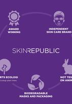 Skin Republic - Pink Holographic Peel-Off Face Mask