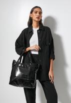 Superbalist - Puffer shopper - black