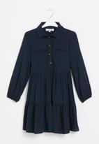 Superbalist - Girls utility dress - navy