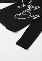 Sissy Boy - Rooftop chill basic logo top - black