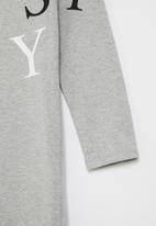 Sissy Boy - Fifi 3/4 sleeve dress - grey