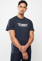 Tommy Hilfiger - Tjm gradient tommy tee - navy