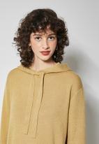 Superbalist - Knitwear hoodie - stone