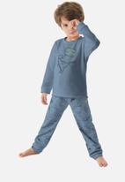 UP Baby - Boys dino pyjama set - blue