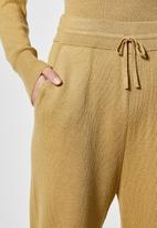 Superbalist - Knitwear jogger - stone
