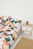 Sixth Floor - Kira printed cotton duvet set - mutli