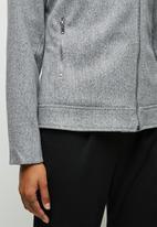 edit - Melton biker jacket - grey