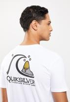 Quiksilver - Fresh take short sleeve - white