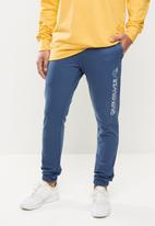 Quiksilver - Trackpant screen - blue