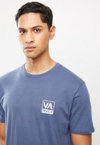 RVCA - Rvca scam short sleeve tee - blue