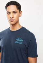 RVCA - Hot jupiter short sleeve tee - navy
