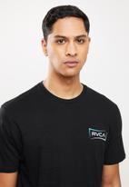 RVCA - Return short sleeve tee - black
