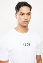 RVCA - Benj snakes short sleeve tee - white