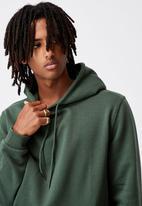 Factorie - Basic hoodie - green