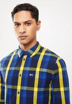Tommy Hilfiger - Tjm multicheck shirt - navy