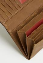 BUSBY - Zulu clutch purse - brown