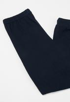 POP CANDY - Long sleeve tee & pants pj set - black & navy