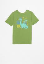 POP CANDY - Younger boys 2 pack graphic tees - blue & green