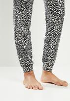 Blake - Printed long sleeve sleep set - animal