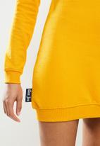 Aca Joe - Aca joe hooded dress - mustard