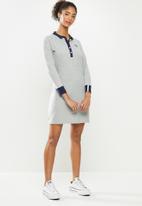 Aca Joe - Long sleeve dress - grey