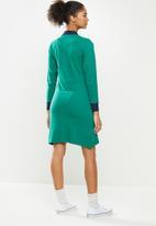 Aca Joe - Long sleeve dress - green