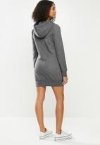 Aca Joe - Aca joe hooded dress - charcoal