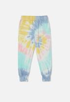 Cotton On - License slouch trackpant - multi