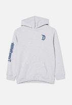 Cotton On - License free hoodie - lcn dis summer grey marle / disneyland
