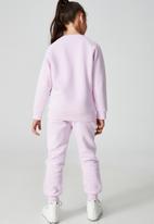 Cotton On - License marlo trackpant - lcn dis disneyland gradient/pale violet