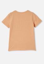 Cotton On - License short sleeve tee - peach