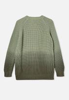 Cotton On - Billie knit cardigan - green