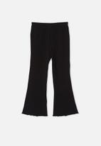 Cotton On - Francine flare pant - black