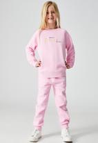 Cotton On - License Mila crew - pink