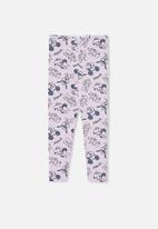 Cotton On - License huggie tight - lcn dis disneyland ydg/pale violet