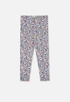 Cotton On - License huggie tight - lcn dis minnie floral ydg/vintage navy