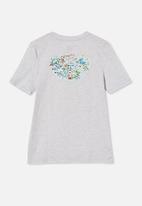 Cotton On - Co-lab free tee - lcn dis summer grey marle / disneyland map