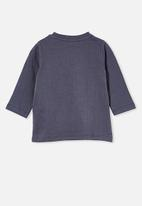 Cotton On - Jamie long sleeve tee - license - vintage navy