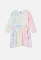 Cotton On - Savannah long sleeve dress - multi