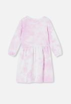 Cotton On - Savannah long sleeve dress - pink