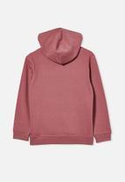 Cotton On - Street hoodie - burgundy