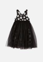 Cotton On - Izzy dress up dress - black