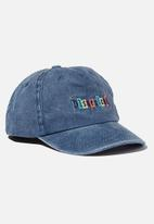 Cotton On - Licensed baseball cap - blue